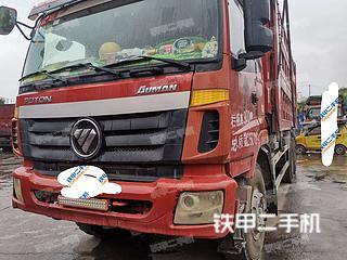 二手福田欧曼 6X4 工程自卸车转让出售