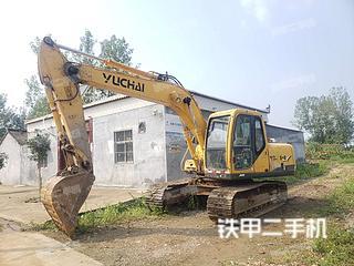 驻马店玉柴YC135-8挖掘机实拍图片