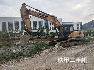 浙江-温州市二手三一重工SY215C挖掘机实拍照片