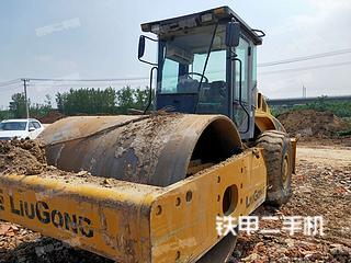 江苏-宿迁市二手柳工CLG622压路机实拍照片