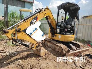 卡特彼勒303CCR挖掘机实拍图片