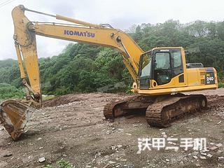 重庆小松PC210LC-8M0挖掘机实拍图片