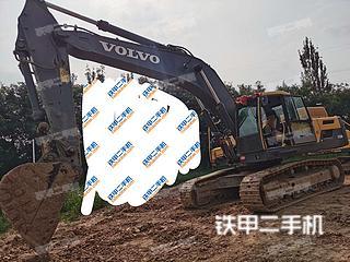 重庆沃尔沃EC350D挖掘机实拍图片