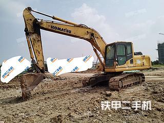 安徽-滁州市二手小松PC200-8挖掘机实拍照片