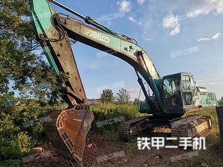 湖南-怀化市二手神钢SK350LC-8挖掘机实拍照片