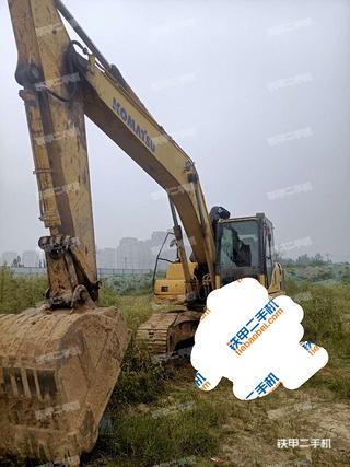 山东-菏泽市二手小松PC200-8挖掘机实拍照片