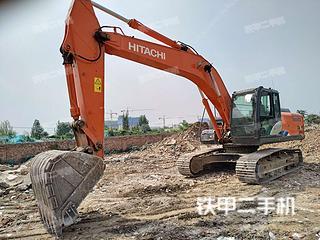 长沙日立ZX240-5A挖掘机实拍图片