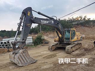 河南-南阳市二手沃尔沃EC360BLC挖掘机实拍照片