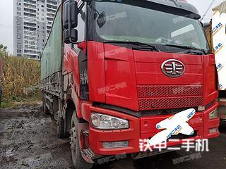 阜新东风6X4工程自卸车实拍图片