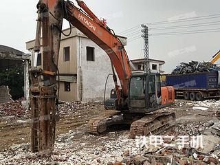 佛山日立EX240-3挖掘机实拍图片