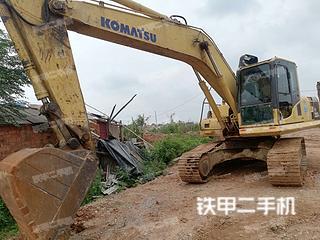 抚州小松PC200-8挖掘机实拍图片