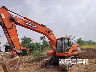 安徽-六安市二手斗山DH215-9E挖掘机实拍照片