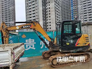 安顺三一重工SY55C挖掘机实拍图片