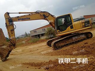 陕西-商洛市二手小松PC210LC-8挖掘机实拍照片