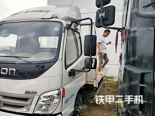 二手福田欧曼 4x2 平板运输车转让出售