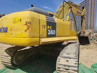 二手小松挖掘机整机右后45°实拍图367