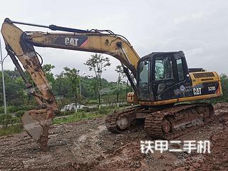 重庆卡特彼勒315D液压挖掘机实拍图片