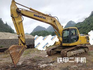 广西-河池市二手小松PC200-6挖掘机实拍照片