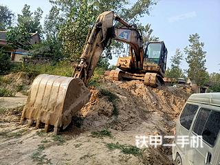 卡特彼勒320C挖掘机实拍图片