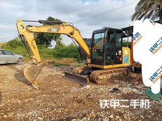 广东-湛江市二手卡特彼勒305.5E2小型液压挖掘机实拍照片