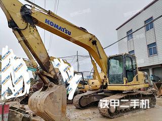 广东-肇庆市二手小松PC200-8挖掘机实拍照片