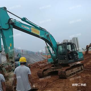 衡阳神钢SK200-8挖掘机实拍图片
