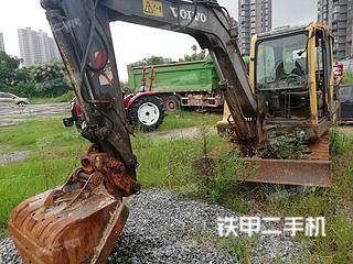 抚州沃尔沃EC55B挖掘机实拍图片