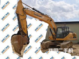 柳工CLG933E挖掘机实拍图片