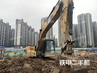 广东-佛山市二手卡特彼勒320D液压挖掘机实拍照片