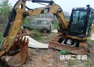 抚州卡特彼勒305.5E液压挖掘机实拍图片