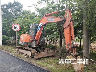 佛山斗山DH60-7挖掘机实拍图片