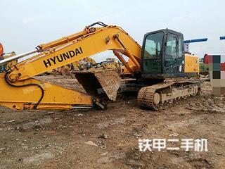 四川-绵阳市二手现代R225LC-7挖掘机实拍照片