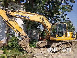 安徽-宿州市二手小松PC200-8挖掘机实拍照片
