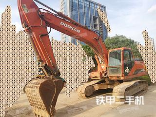 广西-南宁市二手斗山DH225LC-7挖掘机实拍照片