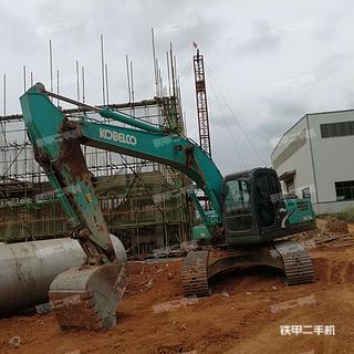 衡阳神钢SK210LC-8挖掘机实拍图片
