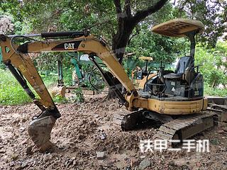 卡特彼勒303CR挖掘机实拍图片