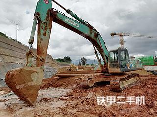 昆明神钢SK350LC-8挖掘机实拍图片