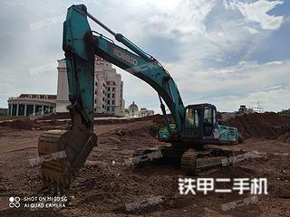 南宁神钢SK350LC-8挖掘机实拍图片