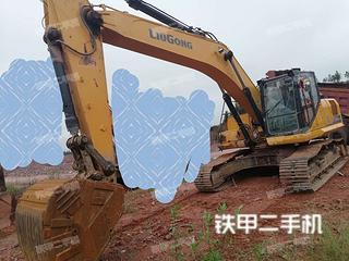 抚州柳工CLG926E挖掘机实拍图片