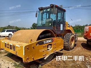 河南-信阳市二手徐工XS223JE压路机实拍照片