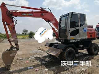 晋工JGM9075LN-10挖掘机实拍图片