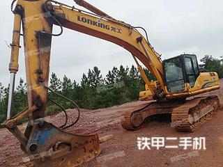 抚州龙工LG6360挖掘机实拍图片