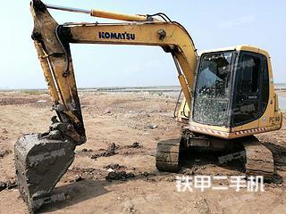江苏-连云港市二手小松PC60-7挖掘机实拍照片
