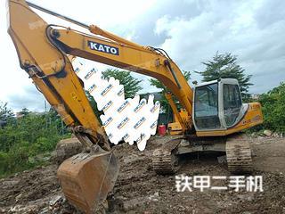 广东-广州市二手加藤HD820III挖掘机实拍照片