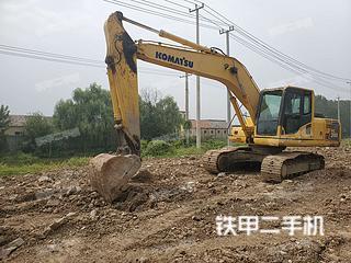 江苏-连云港市二手小松PC200-8挖掘机实拍照片