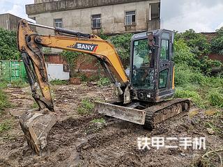 二手三一重工 SY35U 挖掘机转让出售