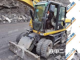 海南卡特彼勒M317D2挖掘机实拍图片