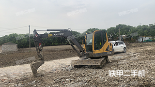 沃尔沃EC55B-Pro挖掘机实拍图片