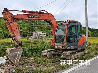 二手斗山 DX75 挖掘机转让出售