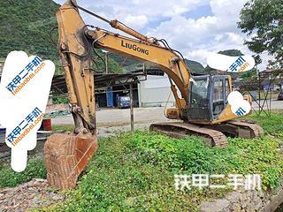 河池柳工CLG225C挖掘机实拍图片